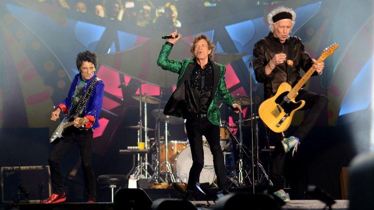 Los Rolling Stones dieron su primer show en La Plata<script type=