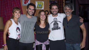 Andrea Pietra, Gonzalo Heredia, Nancy Dupláa, Luciano Castro y Pablo Echarri