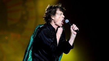 Mick Jagger, rockeando a los 72 años