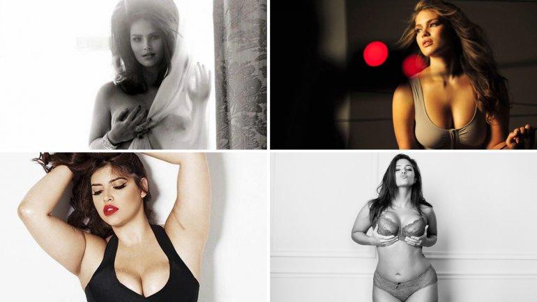 Modelos de tallas grandes súper sexies
