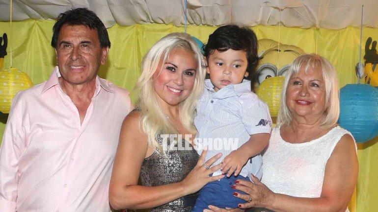 Diego Fernando celebró junto a su familia