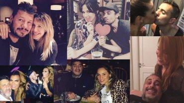 Los mensajes de los famosos por el día de San Valentín.