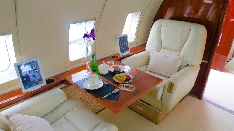 El lujoso avión en el que se traslada Ricky Martin