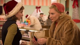 Rooney Mara yCate Blanchetten la película Carol