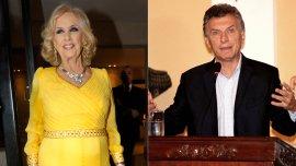 Mirtha Legrand / Mauricio Macri