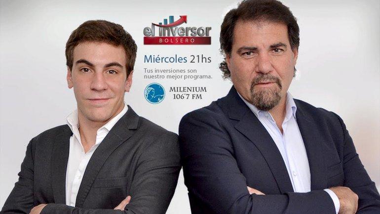 Tomás Bulat y su programa radial El Inversor Bolsero