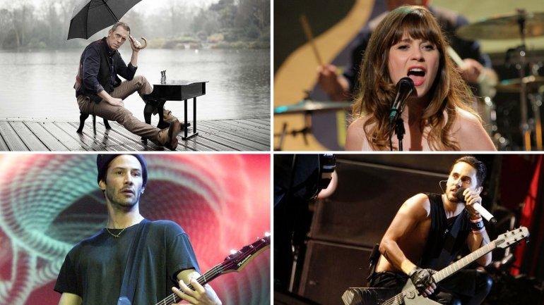 Actores que se probaron como músicos