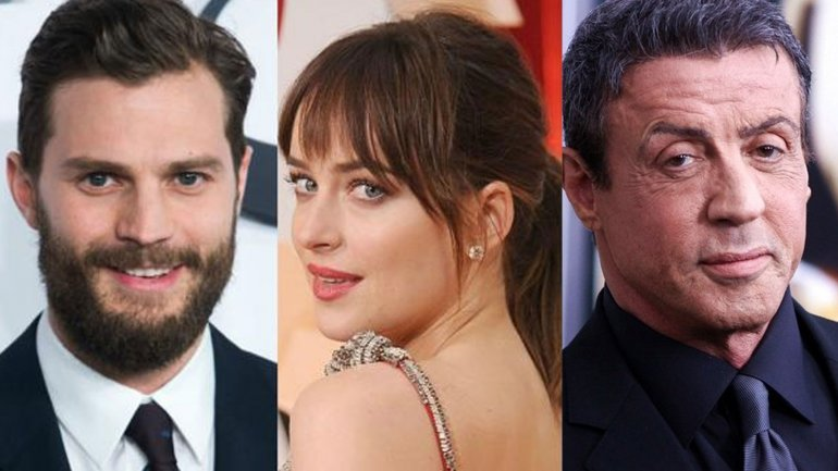 Jamie Dornan / Dakota Johnson / Stallone