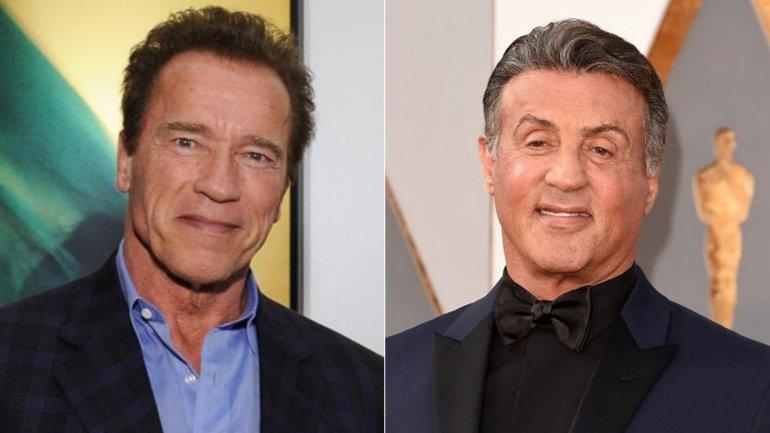 Arnold Schwarzenegger a Sylvester Stallone