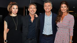 Valeria Bertuccelli y Adrián Suar recibieron al presidente Mauricio Macri y Juliana Awada en estreno de su película
