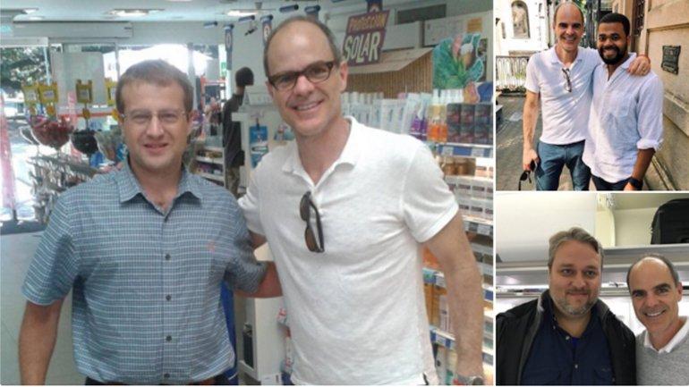 Michael Kelly, también conocido como Doug Stamper de House Of Cards, paseó por Buenos Aires
