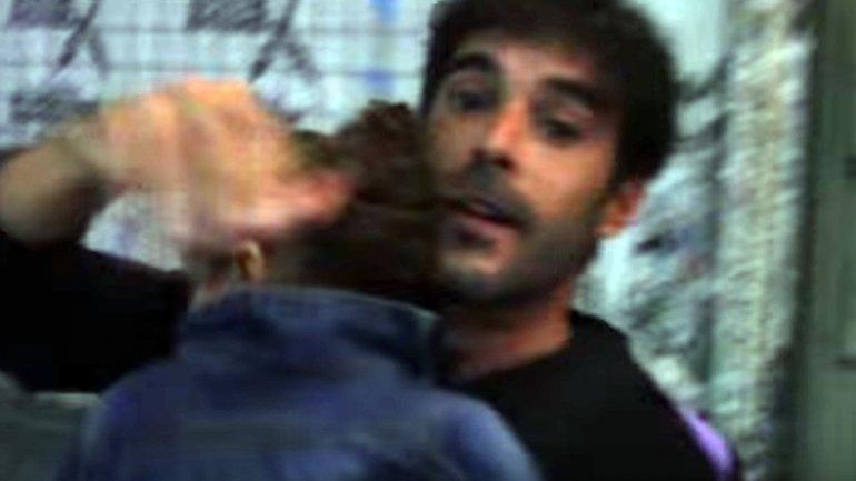 Nicolás Cabré se enoja con un periodista