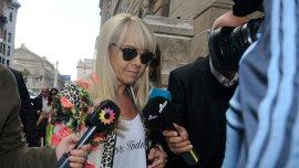 Claudia Villafañe, en Tribunales