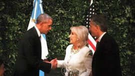 Mirtha Legrand conoció a Barack Obama