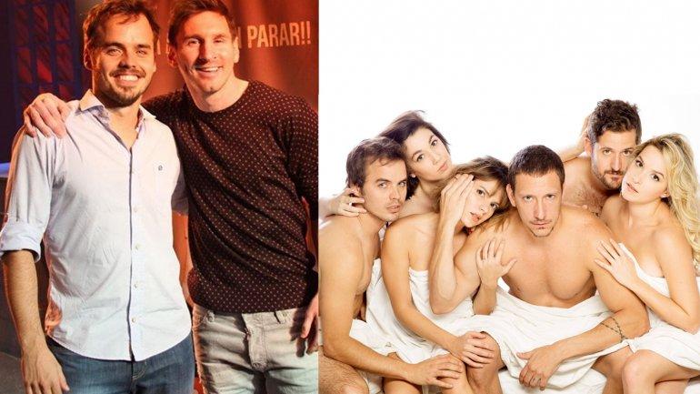 Lionel Messi fue a ver El otro lado de la cama