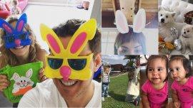 Las Pascuas de los famosos
