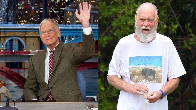 El antes y después de David Letterman