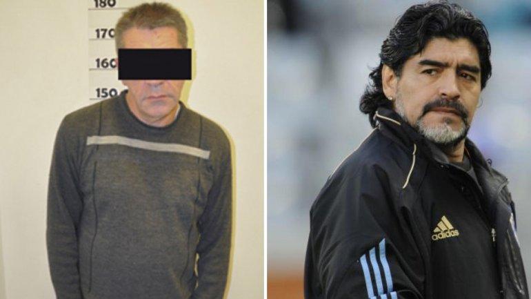 Detienen a Gabriel La Morsa Espósito, excuñado de Diego Maradona