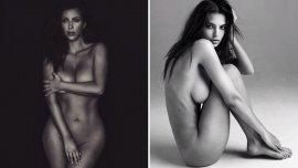 Kim Kardashian y Emily Ratajkowski, militantes del topless