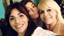 Gianinna, Dalma y Claudia Villafañe