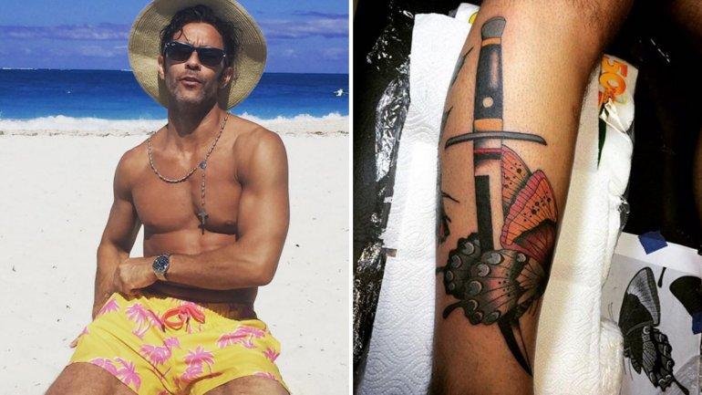 El nuevo tattoo de Mariano Martínez