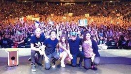 El show de Lali Espósito en Israel