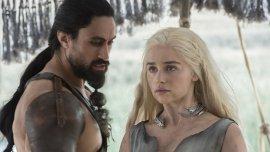 Daenerys se enfrenta a Khal Moro