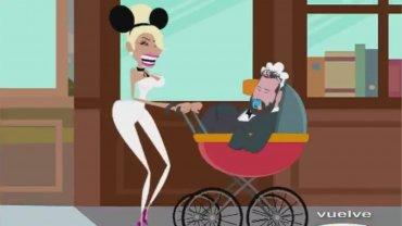 La parodia a Vicky Xipolitakis y José Ottavis