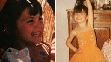 Lali Espósito cuando era chica