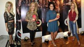 Noelia Marzol; Susana Roccasalvo, Pamela David y Luciana Salazar