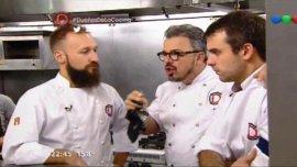 El enojo de Donato De Santis en Dueños de la cocina