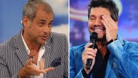 Jorge Rial y Marcelo Tinelli