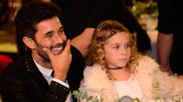Mariano Martínez y su hija Olivia