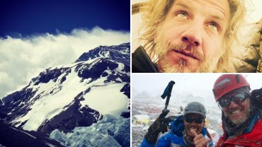 Facundo Arana en el Monte Everest