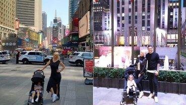 Wanda Nara y Mauro Icardi en Nueva York