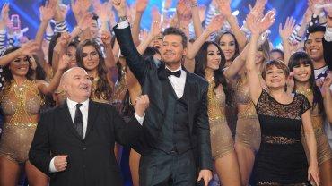 Marcelo Tinelli en el debut de la nueva temporada de ShowMatch