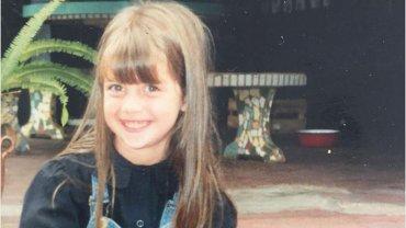 Wanda Nara de niña