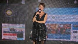 Marcela Feudale en la presentación de su nuevo programa, Bonaherencia