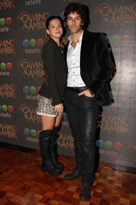 Eugenia Suárez y Mariano Martínez
