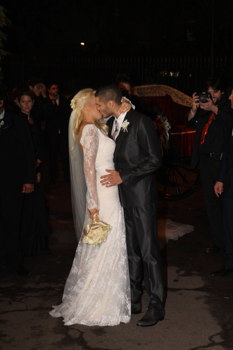 La boda de Wanda Nara y Mauro Icardi , v