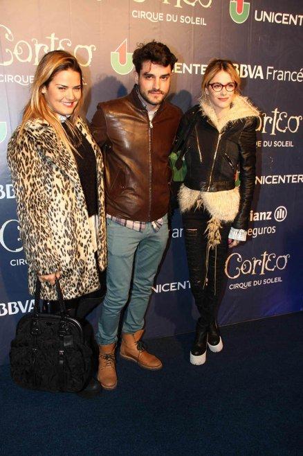 Micaela Vázquez, Fran Larguía y Martina Stoessel