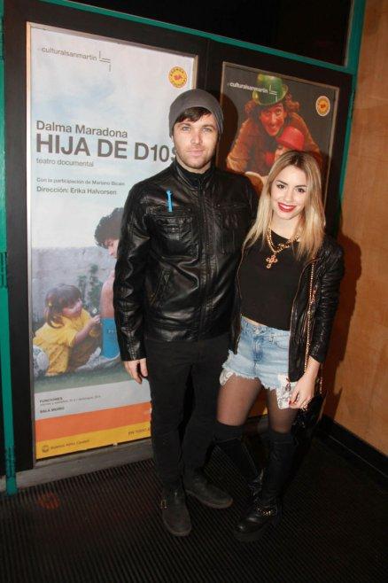 Benjamín Amadeo y Lali Espósito