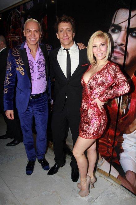 Flavio Mendoza, Melina Greco y Nico Vázquez