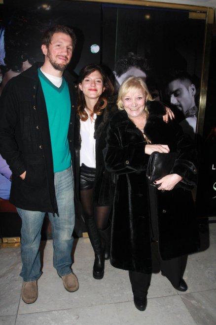 Manuela Pal, su novio y Graciela Pal