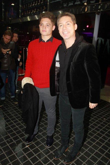 Adrián Suar y su hijo, Toto