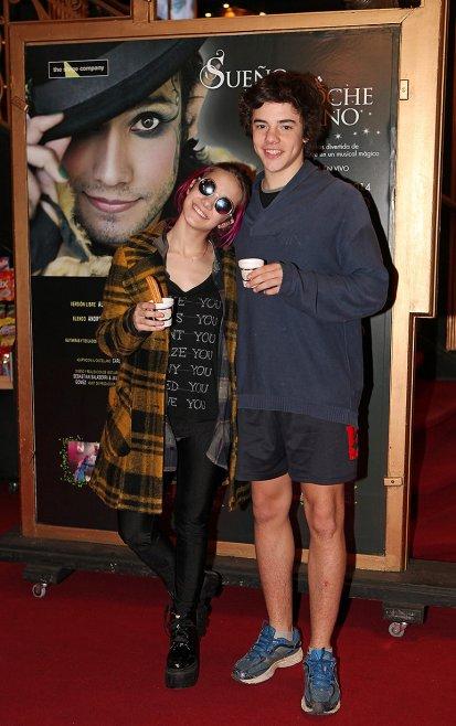 Ángela Torres y su novio