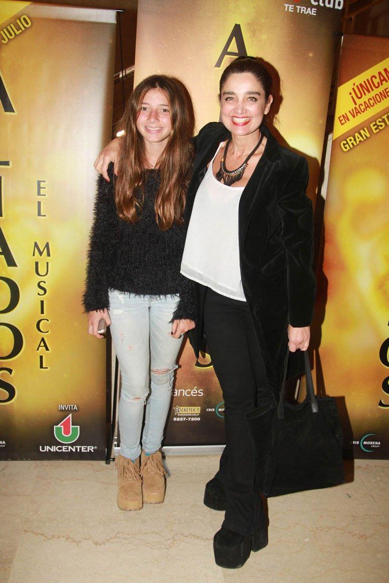 Vero Varano y su hija María