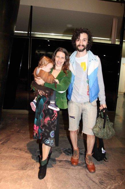 Elena Roger, Mariano Torre y su hija