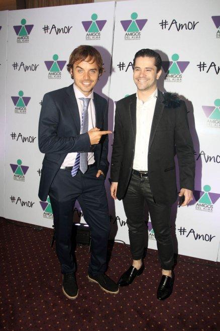 Benjamín Rojas y Felipe Colombo