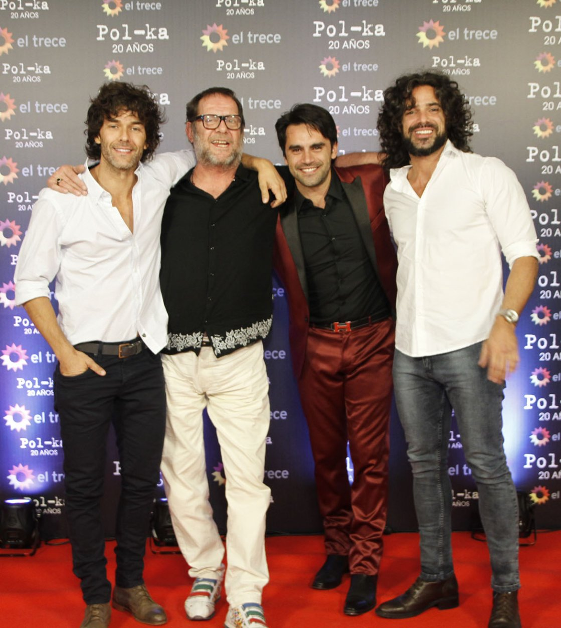 Mariano Martínez, Luis Luque, Gonzalo Heredia y Luciano Castro